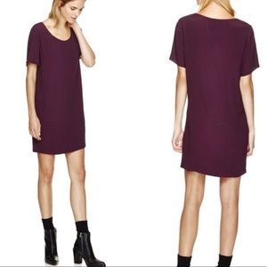 ARITZIA Wilfred • Purple T-Shirt Dress